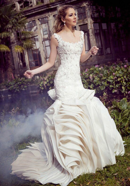 Ysa Makino KYM71 Mermaid Wedding Dress