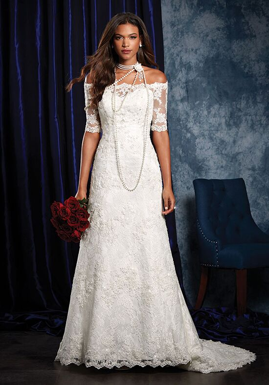 Alfred Angelo Sapphire Bridal Collection 973 A-Line Wedding Dress