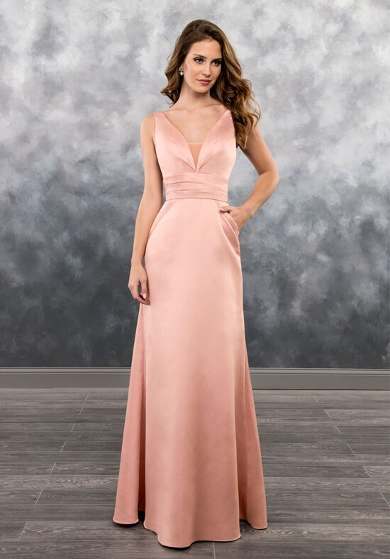 Amalia by Mary's Bridal MB7023 V-Neck Bridesmaid Dress
