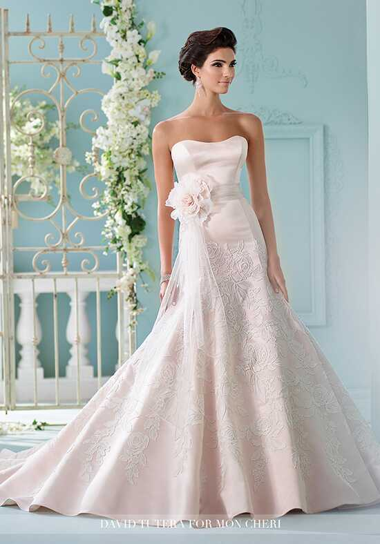 David Tutera for Mon Cheri 216236 Hinto Mermaid Wedding Dress