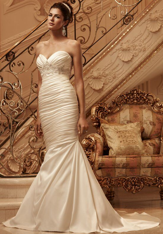 Casablanca Bridal 2118 Mermaid Wedding Dress