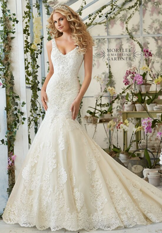 Morilee by Madeline Gardner 2814 Mermaid Wedding Dress