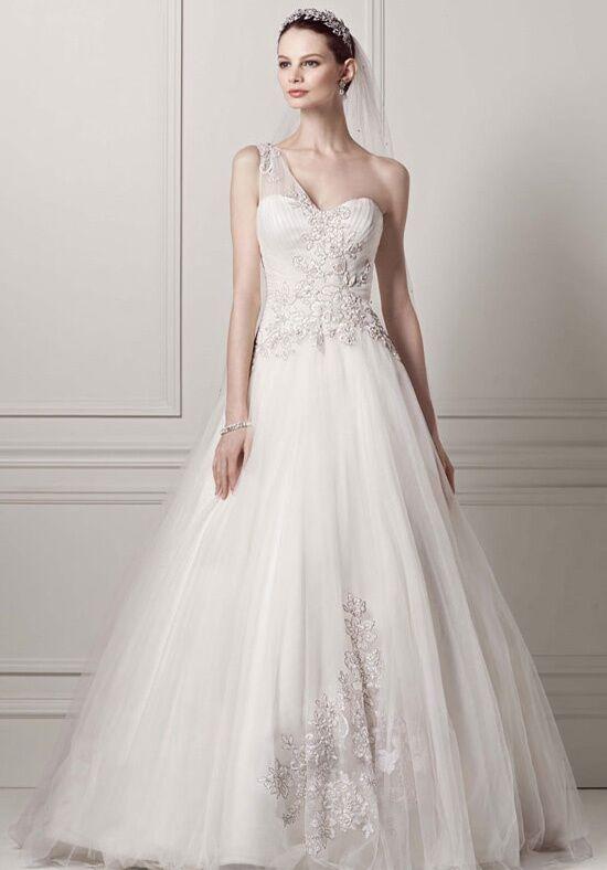 Oleg Cassini at David\'s Bridal CKP421 Wedding Dress - The Knot