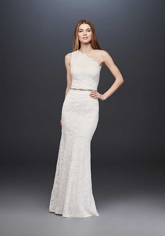 David's Bridal David's Bridal Collection Style 183668DB Sheath Wedding Dress