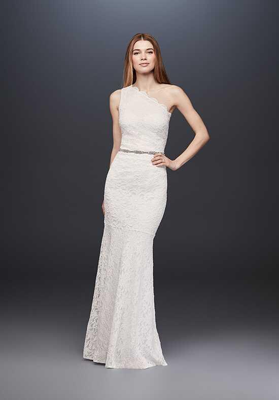 One shoulder wedding dresses davids bridal junglespirit Choice Image