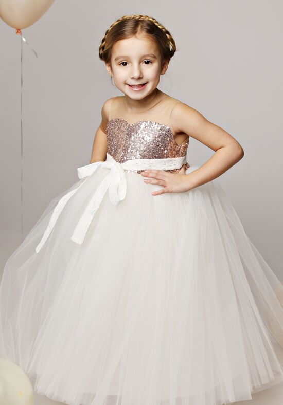 FATTIEPIE selene Ivory Flower Girl Dress