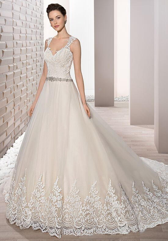 Demetrios 678 A-Line Wedding Dress