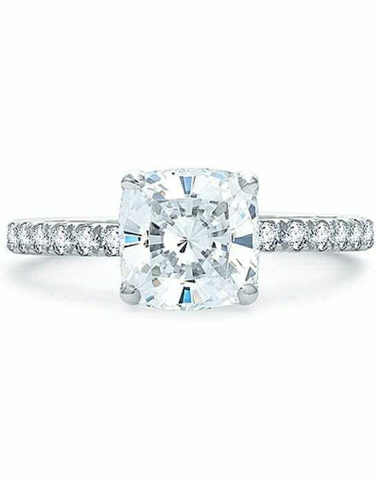 Since1910 Classic Cushion Cut Engagement Ring