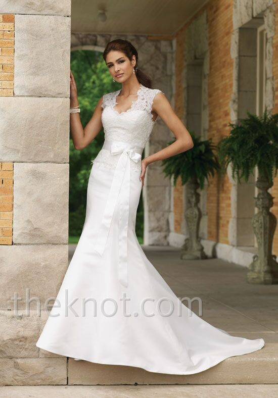 David Tutera for Mon Cheri 110220 Mermaid Wedding Dress