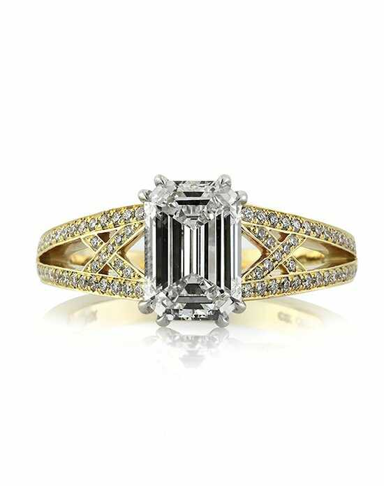 Mark Broumand 2.51ct Emerald Cut Diamond Engagement Ring Engagement Ring photo