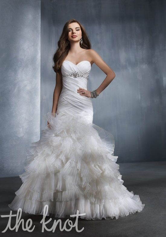 Alfred Angelo Signature Bridal Collection 2308 Mermaid Wedding Dress