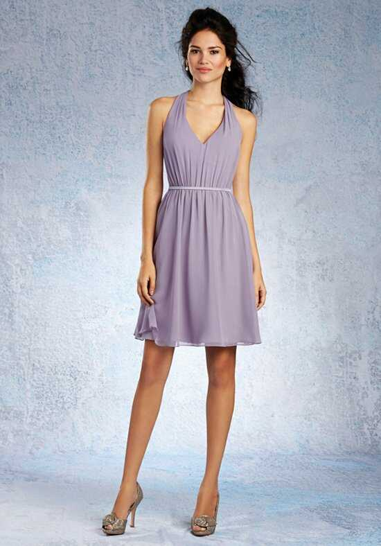 Alfred Angelo Signature Bridesmaids Collection 7333S Halter Bridesmaid Dress