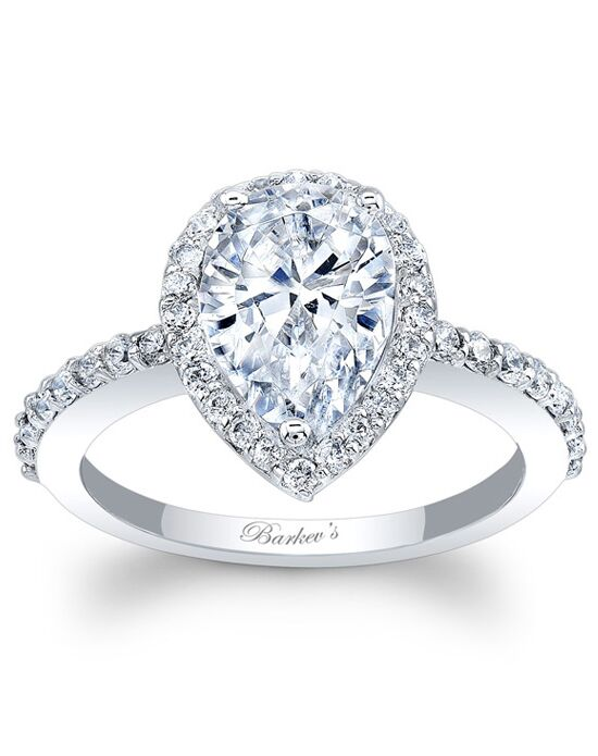 Barkev's Pear Cut Engagement Ring