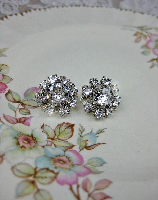 Everything Angelic Jo Post Earrings - e345 Wedding Earring photo