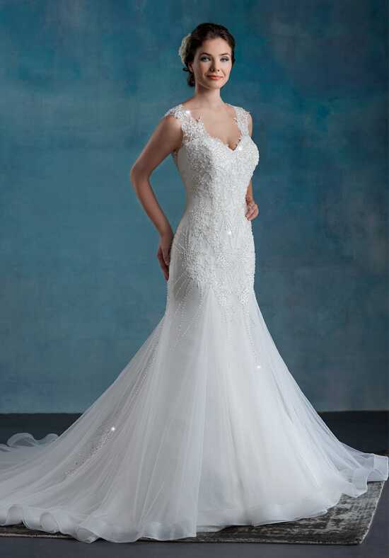 1 Wedding by Mary's Bridal 6547 Mermaid Wedding Dress