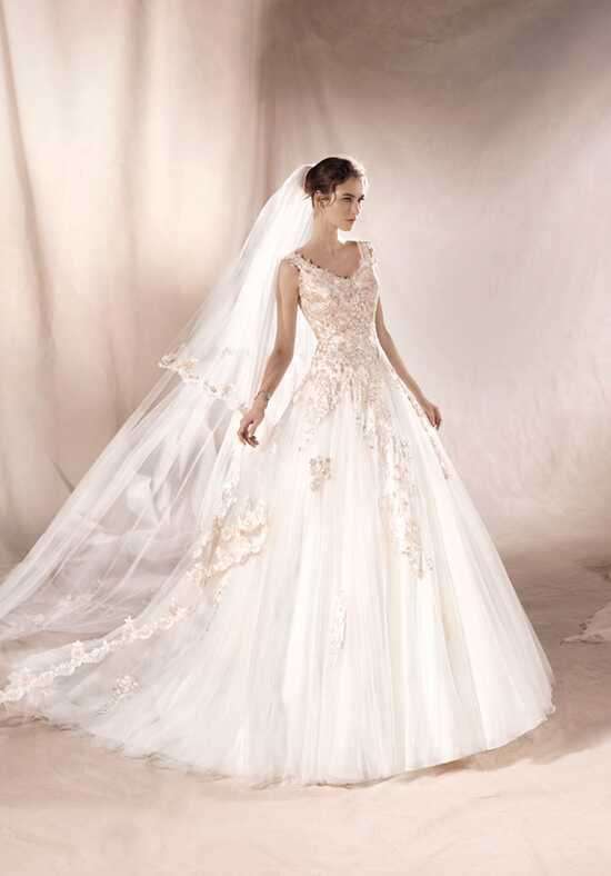 WHITE ONE SANSA Ball Gown Wedding Dress