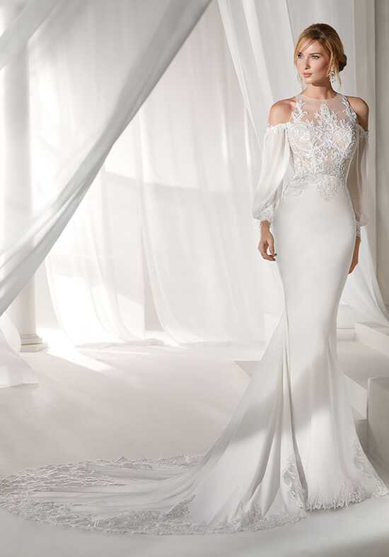 Nicole Milano 2019 Collection NIAB19023 Mermaid Wedding Dress