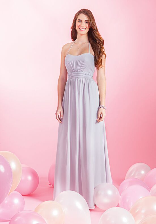Alfred Angelo Signature Bridesmaids Collection 7383L Halter Bridesmaid Dress