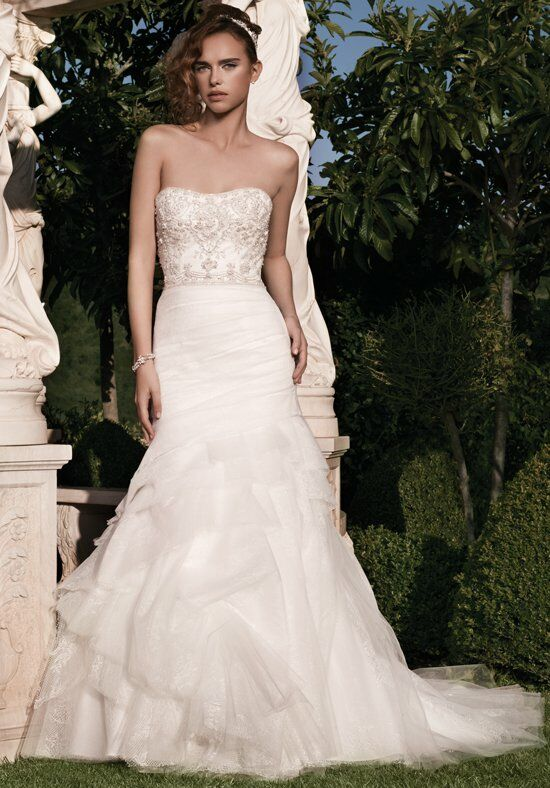 Casablanca Bridal 2133 Mermaid Wedding Dress