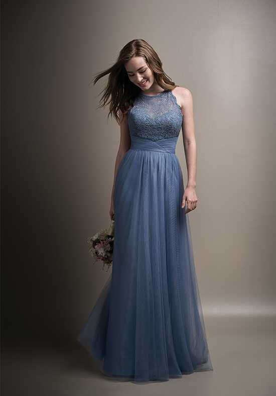 Belsoie L194009 Illusion Bridesmaid Dress