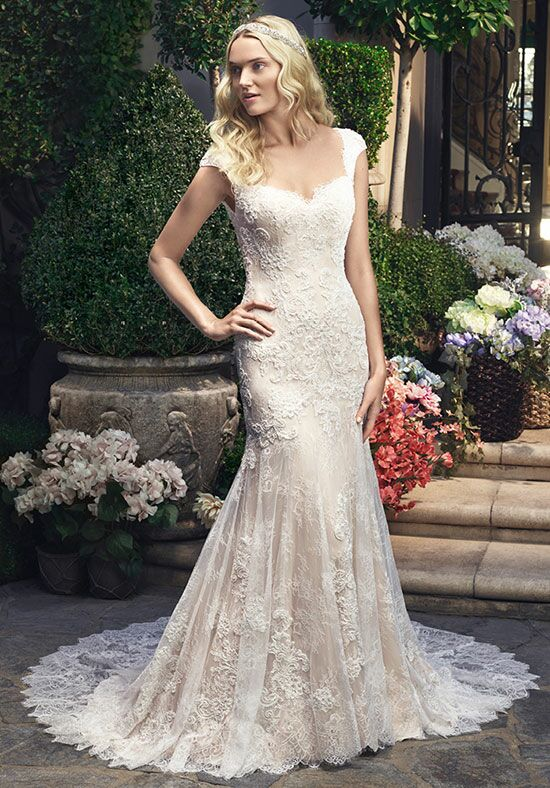 Casablanca Bridal 2215 Mermaid Wedding Dress