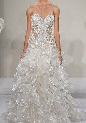 Pnina Tornai for Kleinfeld 4219 A-Line Wedding Dress