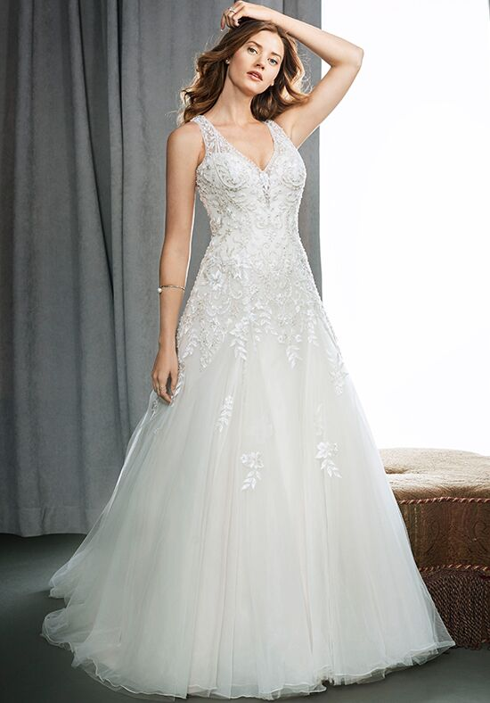 Kenneth Winston 1717 Ball Gown Wedding Dress