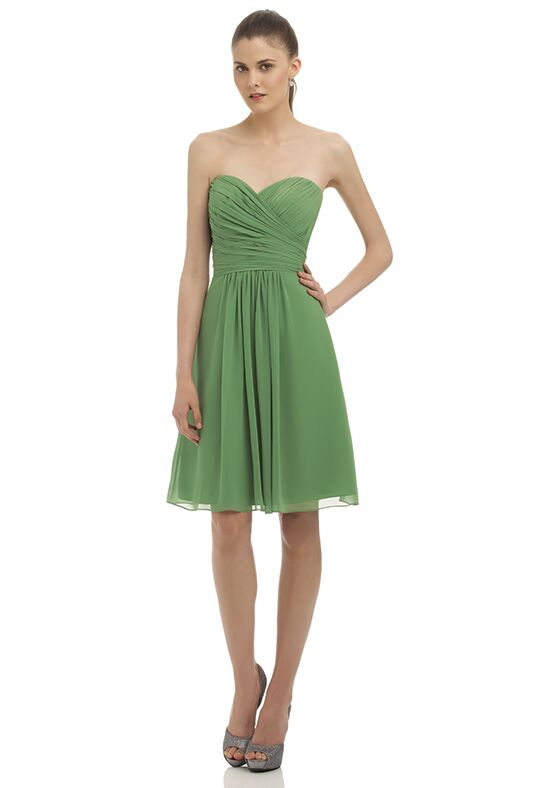 Bill Levkoff 323 Strapless Bridesmaid Dress