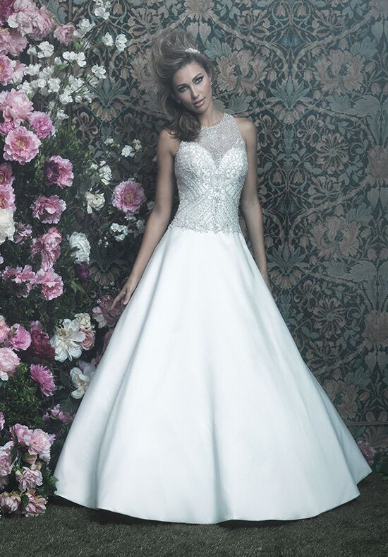 Allure Couture C411 Ball Gown Wedding Dress