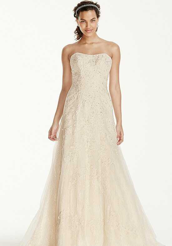 David's Bridal Jewel Style WG3755 A-Line Wedding Dress