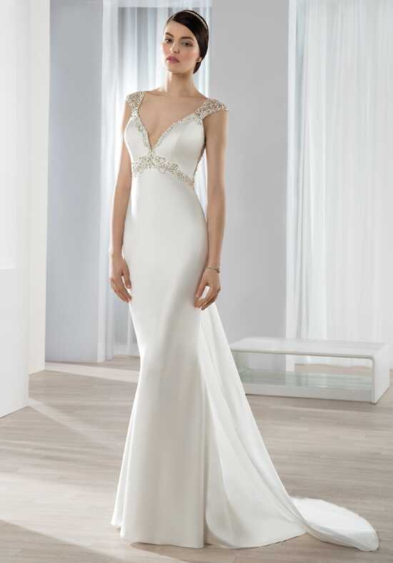 Demetrios 637 Sheath Wedding Dress