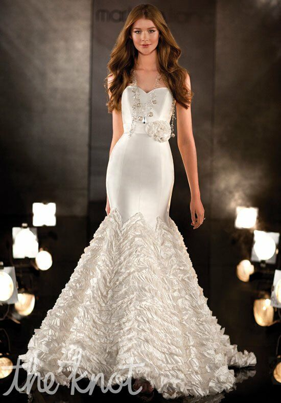 Martina Liana 338 Mermaid Wedding Dress