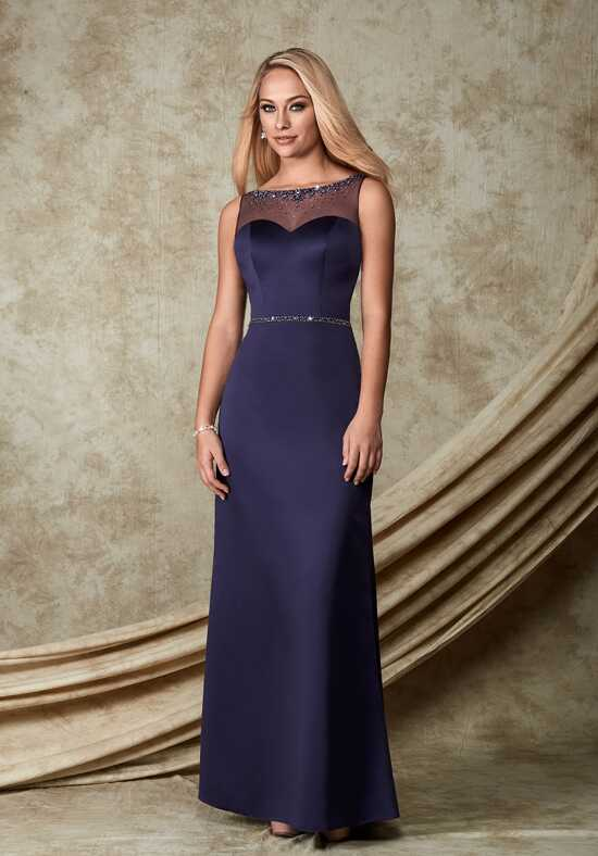 1 Wedding by Mary's Modern Maids M1500 Bateau Bridesmaid Dress