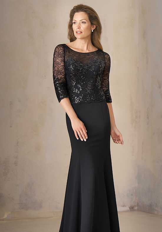 Jade Couture K208005 Black Mother Of The Bride Dress