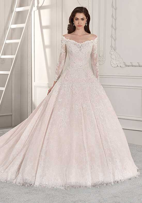 Demetrios 863 Ball Gown Wedding Dress