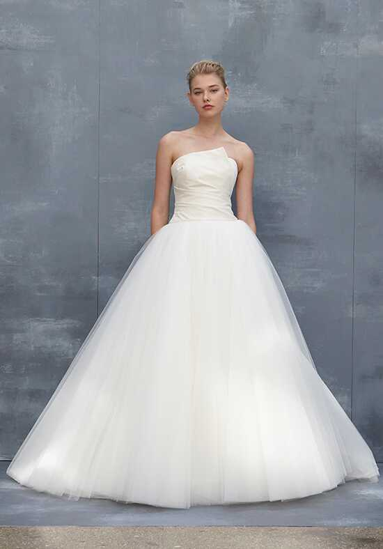 Amsale Iris Ball Gown Wedding Dress
