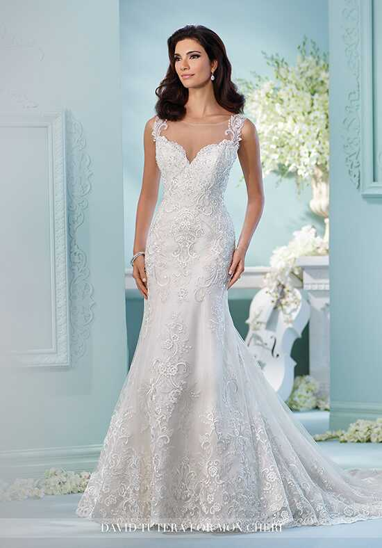 David Tutera for Mon Cheri 216256 Linna Mermaid Wedding Dress