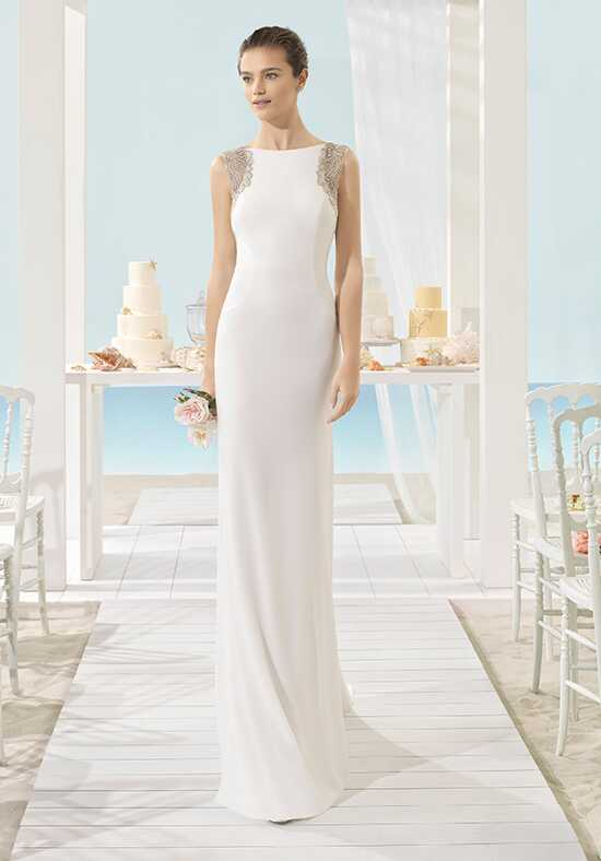 Aire Beach Wedding Xilof Sheath Wedding Dress