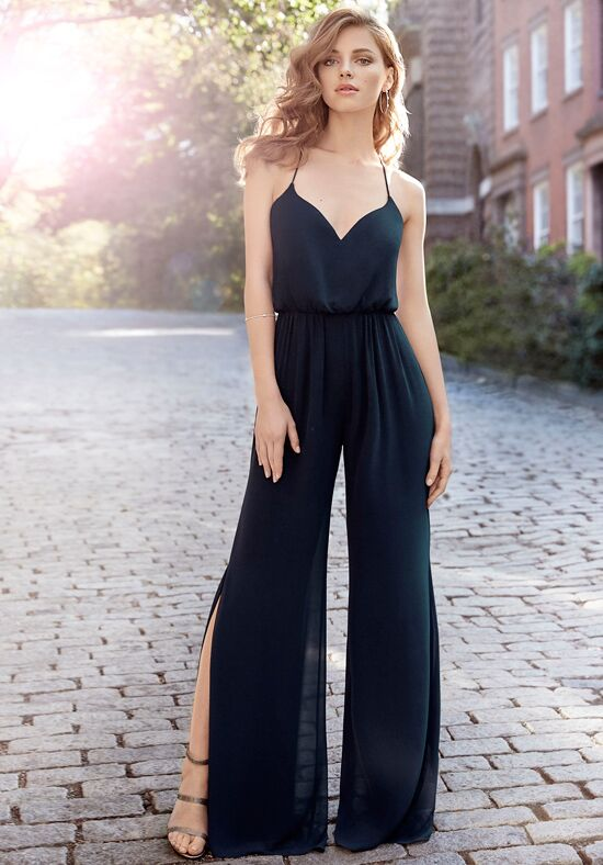 Hayley Paige Occasions 5710 V-Neck Bridesmaid Dress