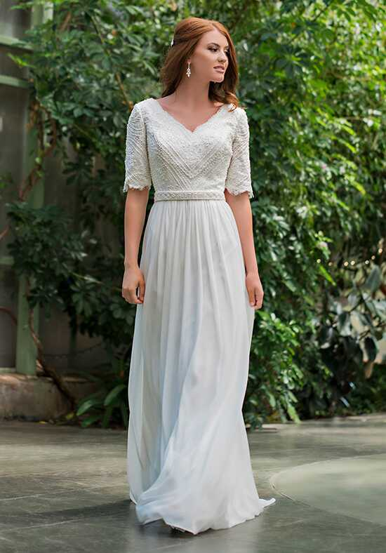 Modest by Mon Cheri TR11836 A-Line Wedding Dress