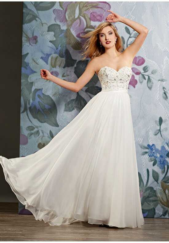 1 Wedding by Mary's Bridal 2596 A-Line Wedding Dress