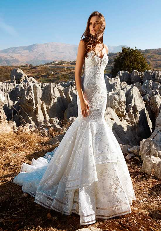 Tony Ward for Kleinfeld Blake Mermaid Wedding Dress