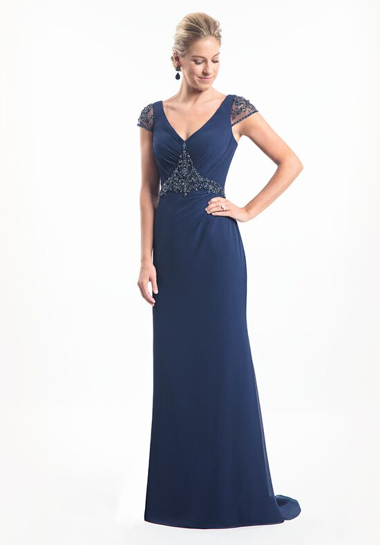 Mothers by Mary's Bridal MB8012 Blue Mother Of The Bride Dress