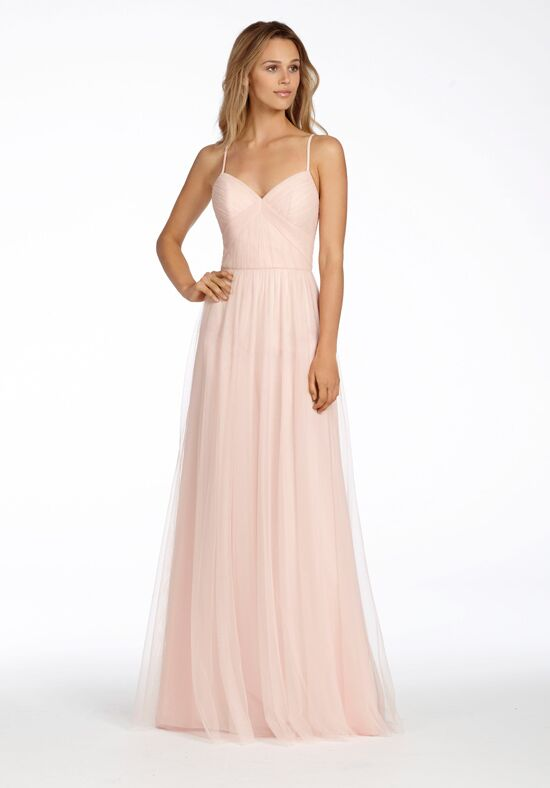 Hayley Paige Occasions 5702 V-Neck Bridesmaid Dress