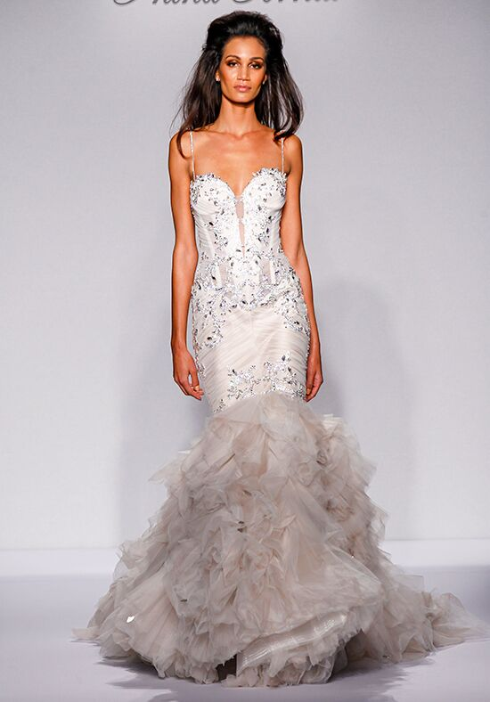 Pnina tornai for kleinfeld 4458 wedding dress the knot for Pnina tornai wedding dresses prices