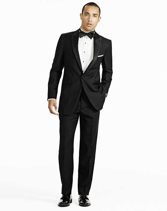 Generation Tux Slim Black Notch Lapel Tux Black Tuxedo