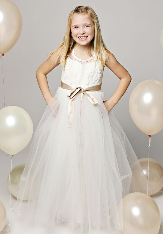 FATTIEPIE athena Ivory Flower Girl Dress