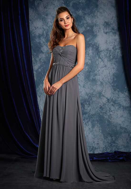 Alfred Angelo Sapphire Bridesmaid Collection 8111L Strapless Bridesmaid Dress