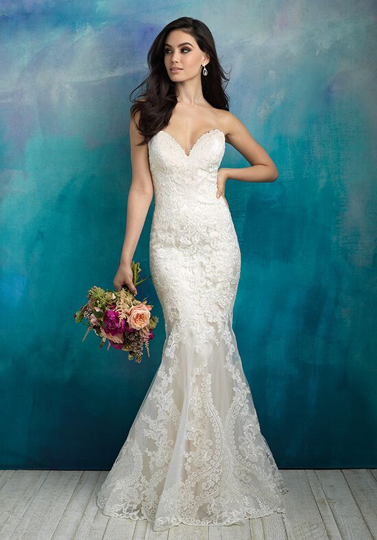 Allure Bridals 9516 Mermaid Wedding Dress