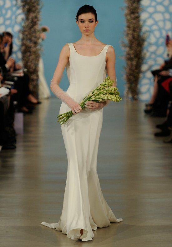 Oscar de la Renta Bridal 2014 Look 8 Mermaid Wedding Dress